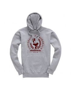 Sweat Capuche Brodé